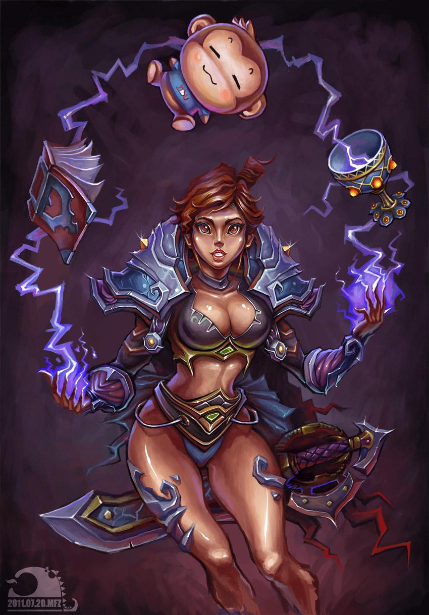 Новые арты World of Warcraft Cataclysm