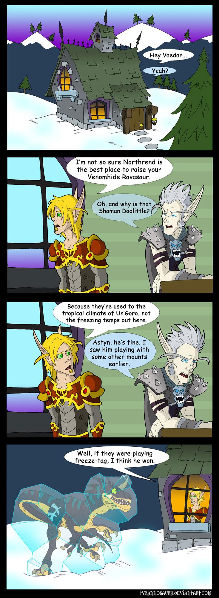 Blizzard world comi