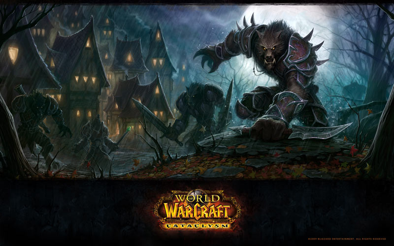 World Of Warcraft Worgen Wallpaper. World of Warcraft: Cataclysm -