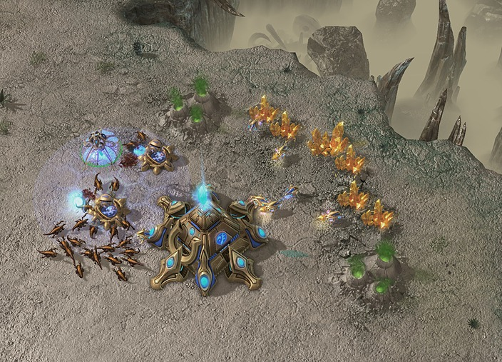 StarCraft 2: Wings of Liberty - Скриншоты к игре StarCraft 2: Wings of Libe