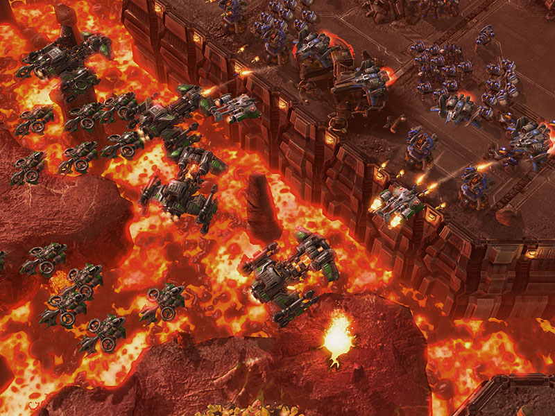 Screenshot de Starcraft 2
