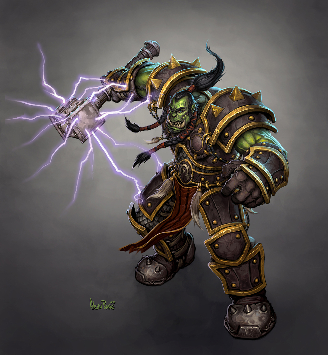 warcraft thrall wow - photo #5