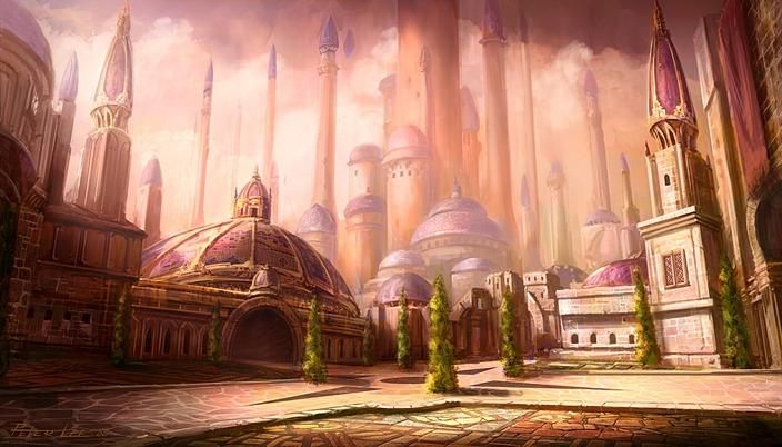 La cité de Dalaran