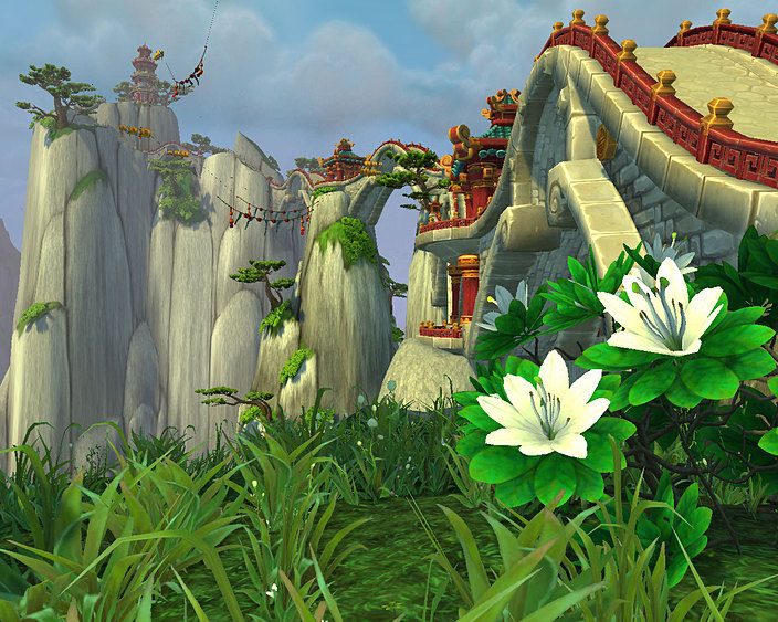 The Jade Forest in Mists of Pandaria