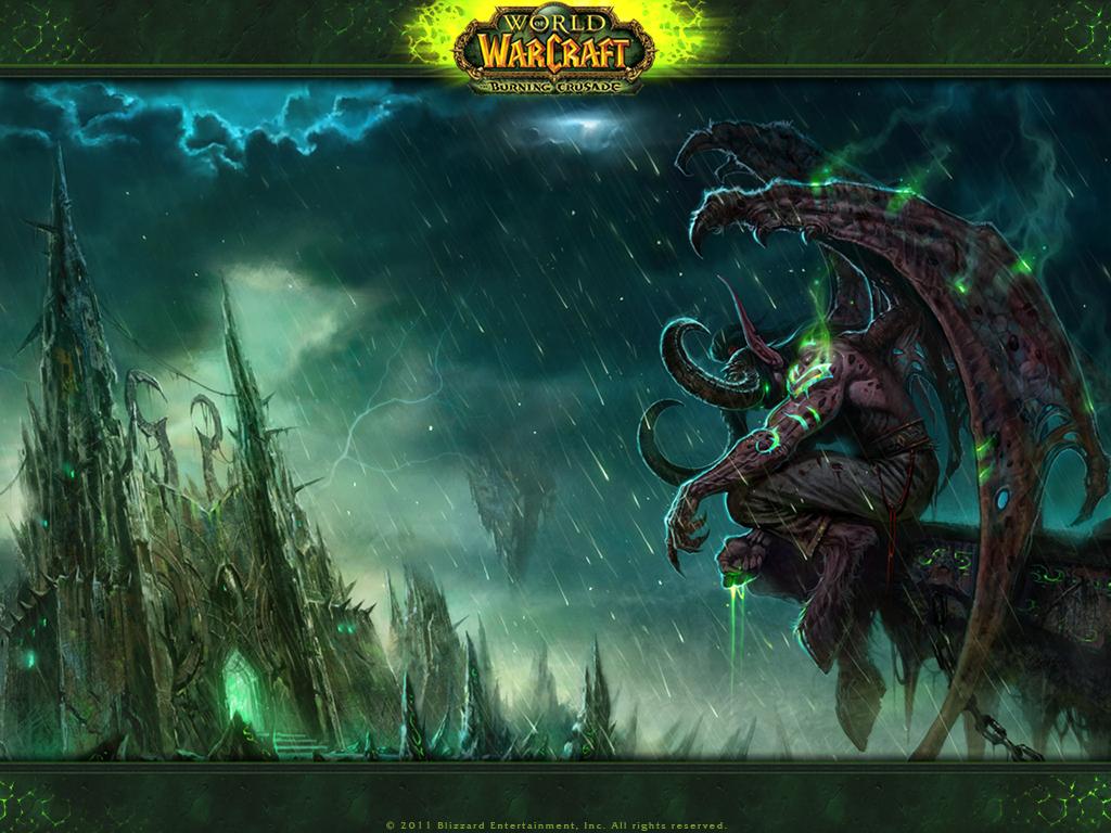 pics photos illidan stormrage warcraft iii image 1024x768