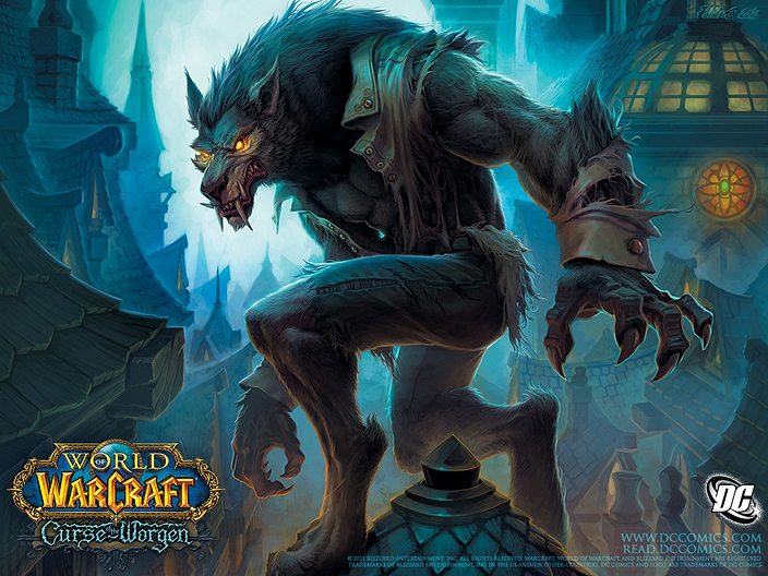 Curse of the Worgen Issue #5. Digital image. World of Warcraft. 29 Mar. 2011. Web. 16 Dec. 2011. <http://us.battle.net/wow/en/media/wallpapers/comics?view#/comic-worgen01>.