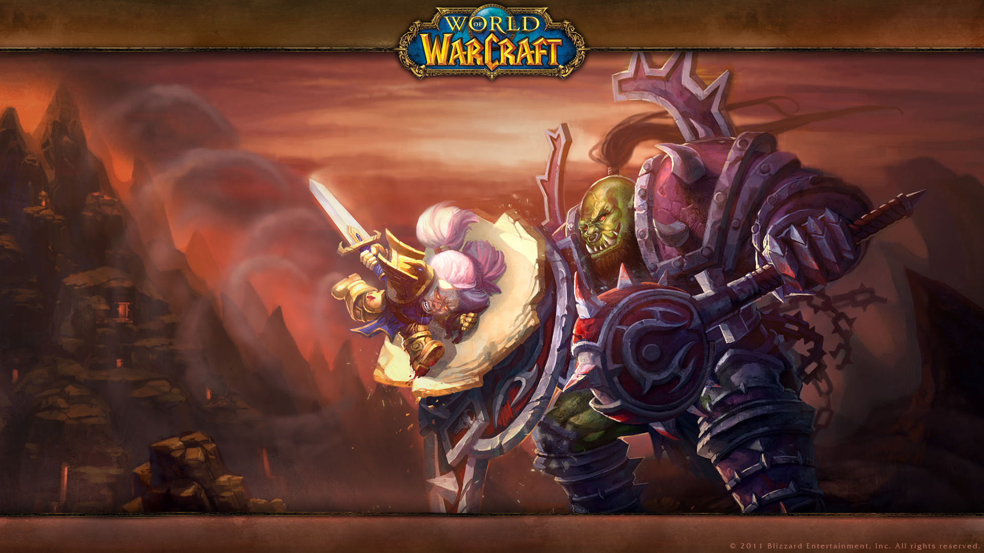 artworks et fond d cran sur le site officiel warcraft